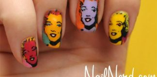 Vibrant Marilyn Nails