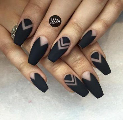 30 Popular Black Nail Art Designs Best Nail Art Designs 2020