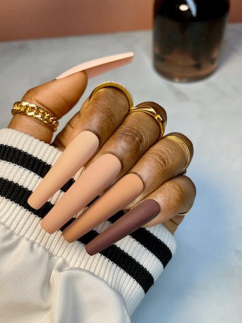 nude presson nails