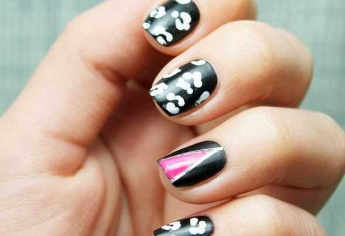 Uñas Decoradas Con Estampado De Leopardo Nail Art Nailistas