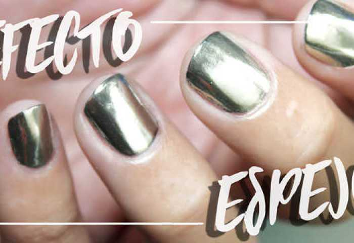 Uñas Efecto Espejo No Gel Polvos Mirror Powder Review