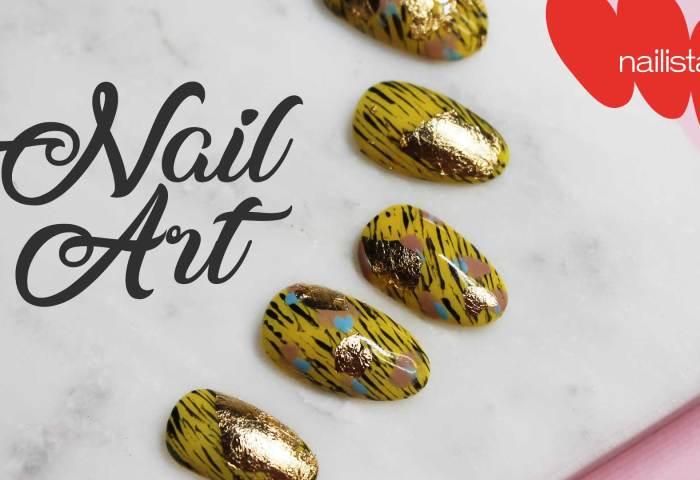 Cómo Aplicar Pan De Oro En Las Uñas Nail Art Paso A Paso