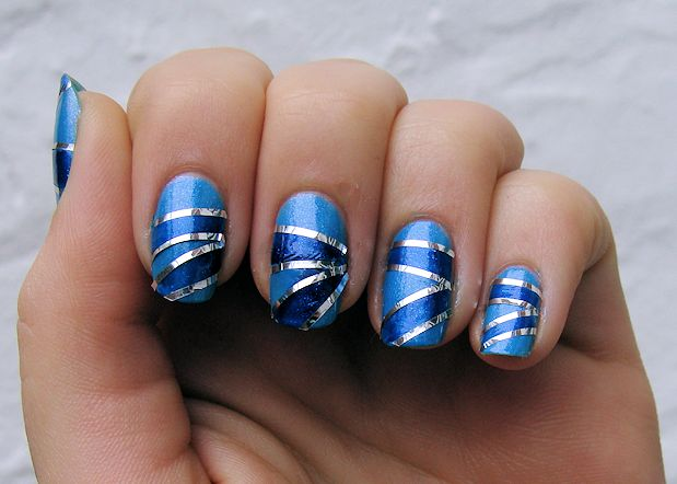 40 Beautiful Nail Arts That You Can Do With Stripes