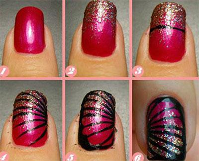 Step By Nail Art Tutorial 18 Designs