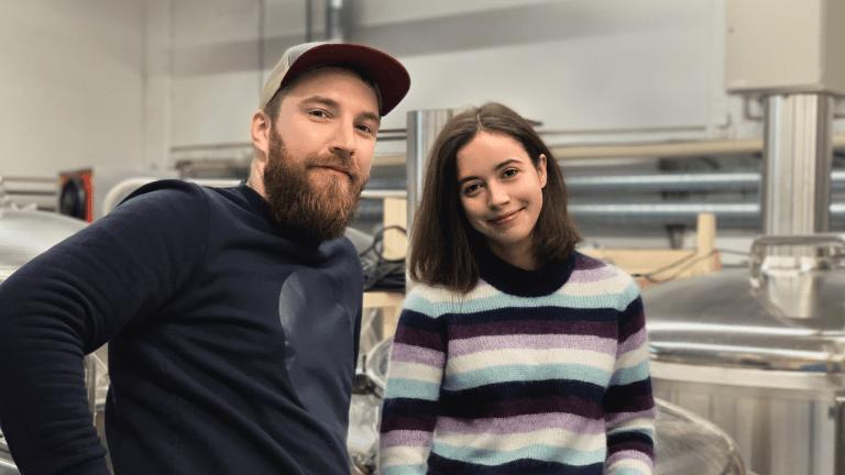 Bence ja Anna - Nailo Brewing