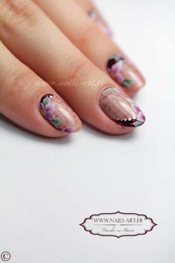 Lettre Damour Valentine Nature Nails Nails Art