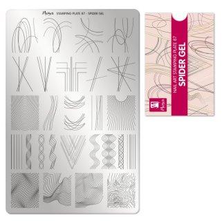 Moyra Stamping Card 87 Spider