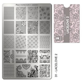 Moyra Stamping Plate 31 LaceLove2 2