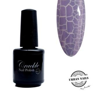 Crackle nail polish 10 lila