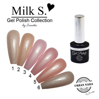 Be Jeweled Gelpolish Milkskake Collection