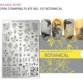 Moyra Stamping Plate 107 Botanical
