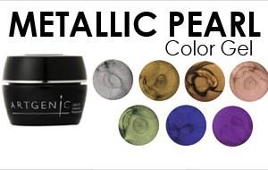 Artgenic Metallic Pearl Colour Gels