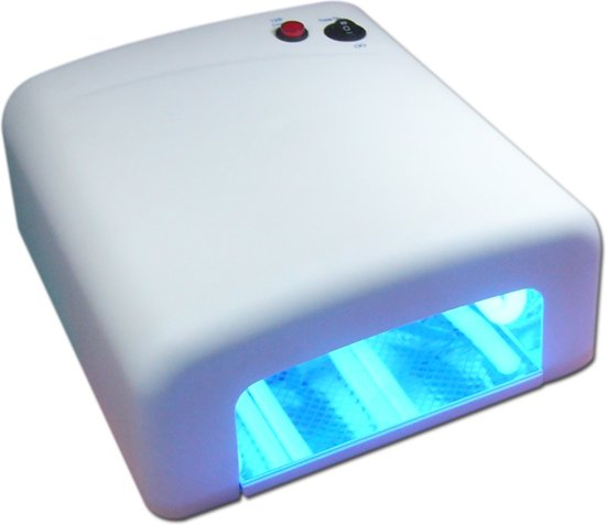SOAK OFF NAGELDROGER 36 WATT UV LAMP- nageldroger voor gelnagels en gel nagellak - nagel lamp - Wit