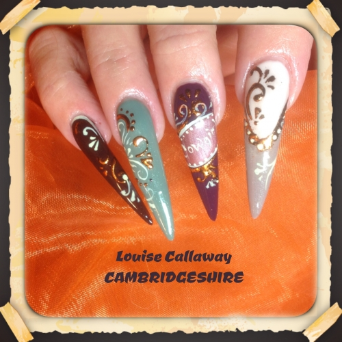 Louise Callaway Educator For Cambridgeshire And Norfolk Is Well Known Posting Her Collection Nail Art Creations This One