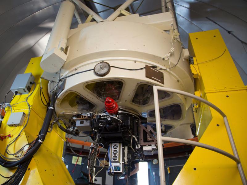 Le télescope VATT, au Mount Graham International Observatory en Arizona