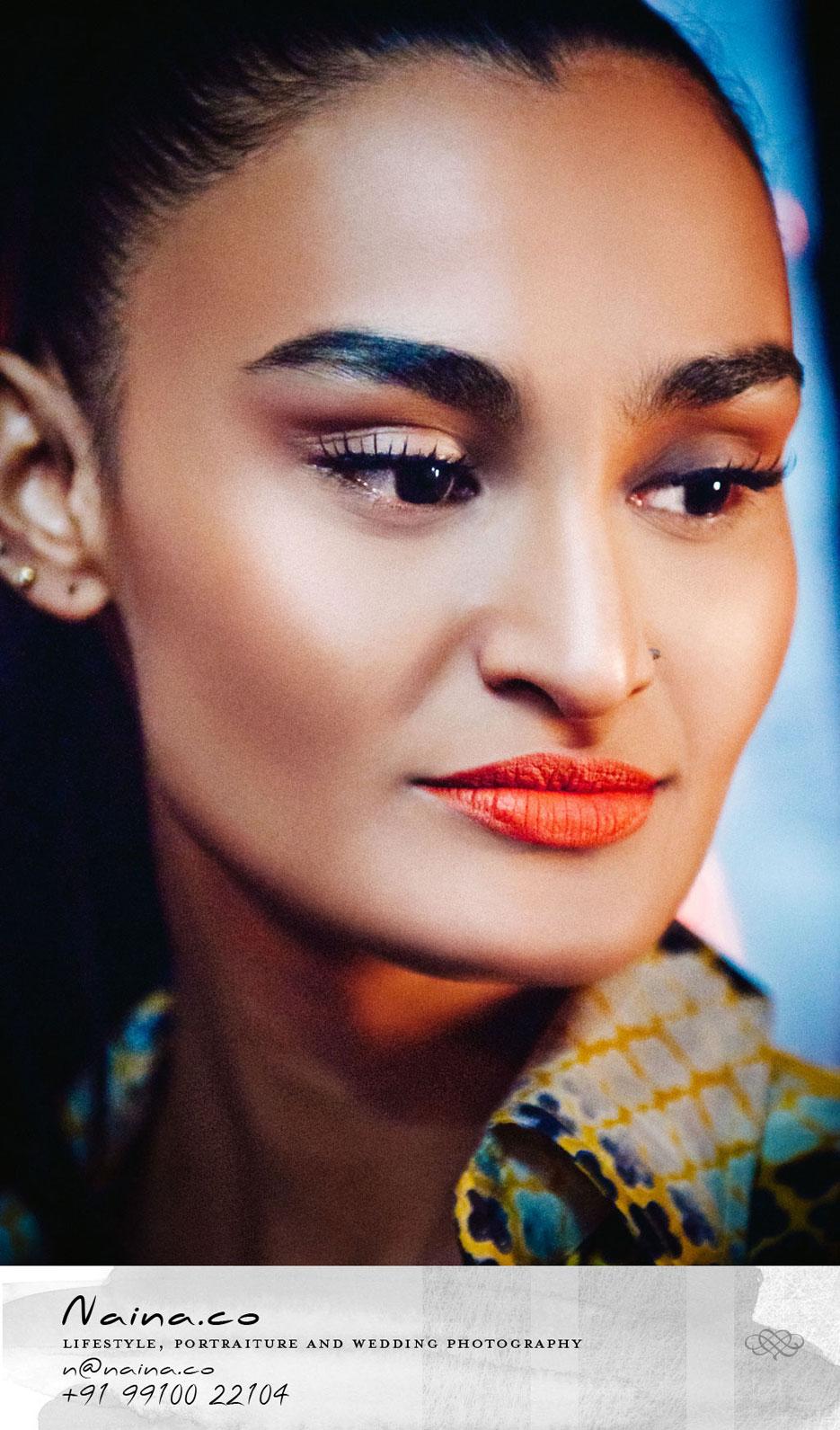Fashion photography on the Nikon D90 for sale. Professional photographer Naina Redhu.