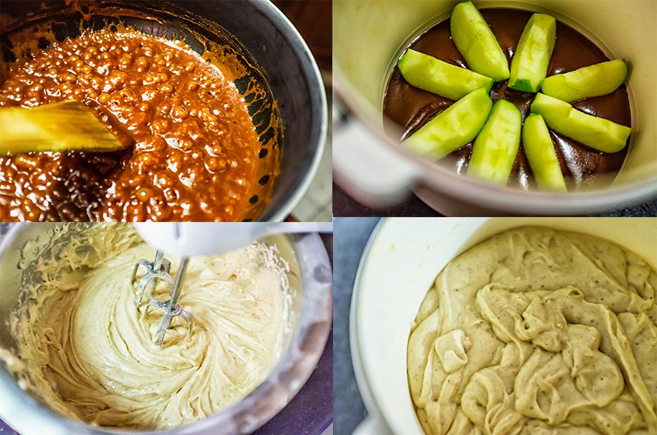 Caramel & Apple Cake. Food & fruit photography. Photography by professional Indian lifestyle photographer Naina Redhu of Naina.co