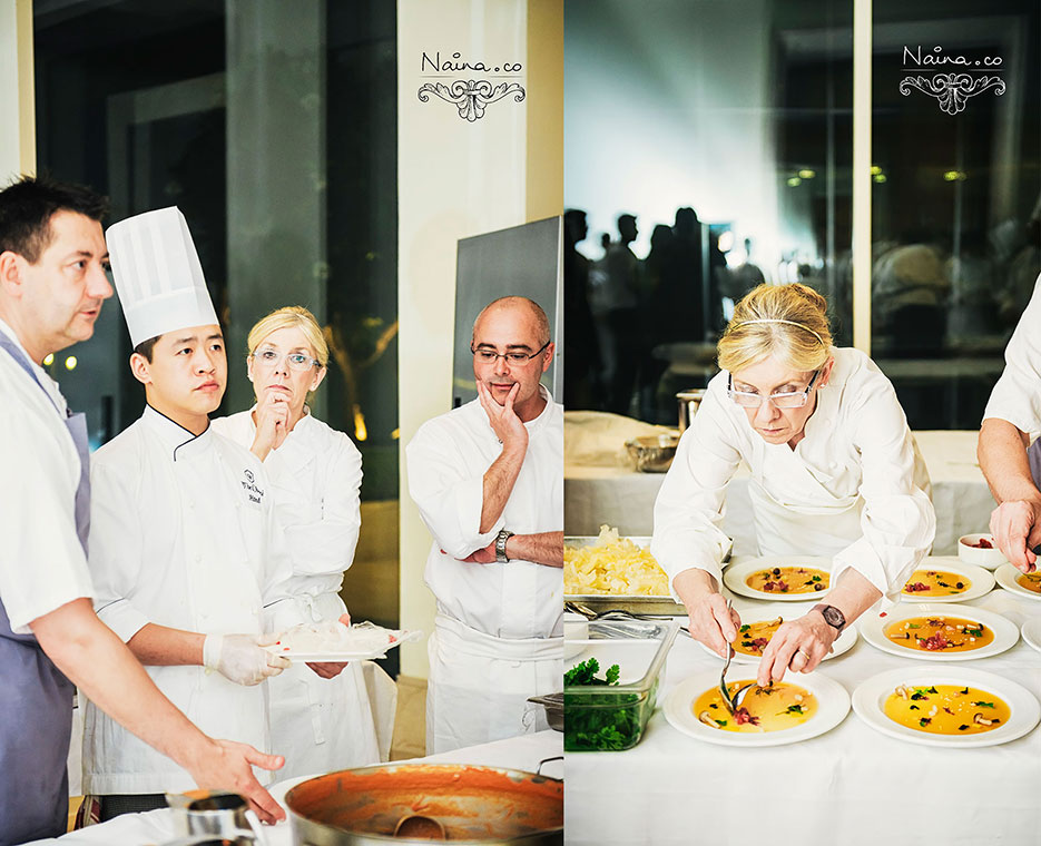 Chef Frances Atkins of The Yorke Arms, UK at the CSSG Gastronomy Summit, 2012 photographed by photographer Naina Redhu of Naina.co