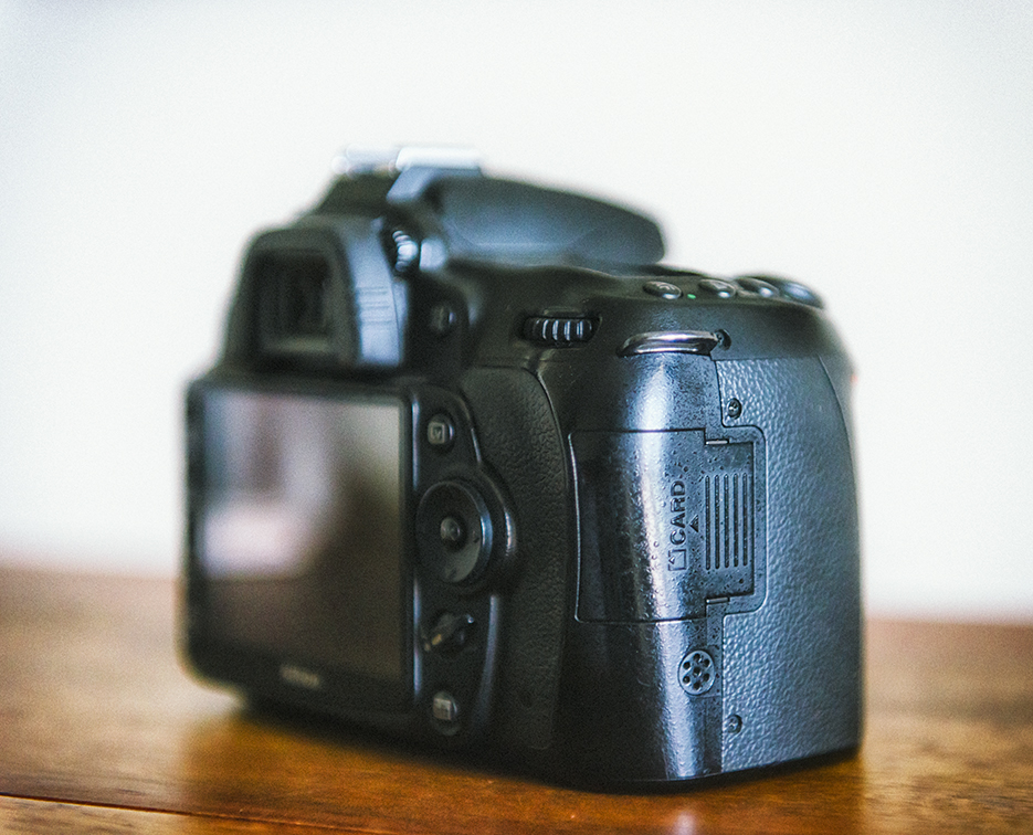 Professional photography on the Nikon D90 for sale. Camera product photographer Naina Redhu.