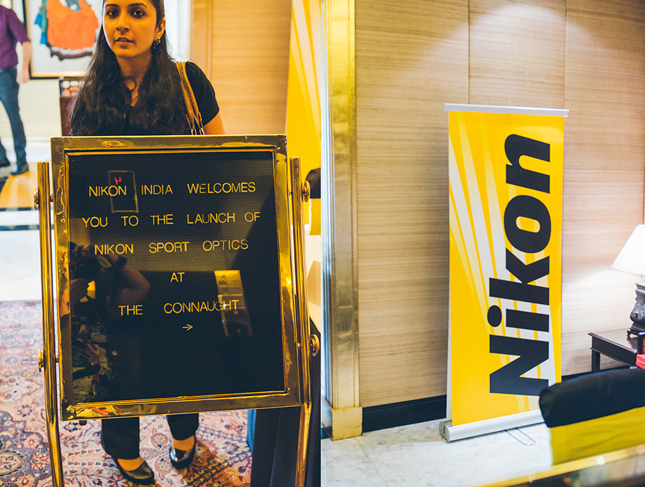 Nikon Sports Optics India Launch, Binoculars, New Delhi. Event Photography by professional Indian lifestyle photographer Naina Redhu of Naina.co
