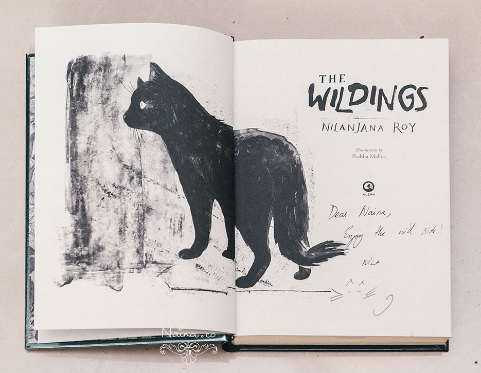 The Wildings, Nilanjana Roy, Fiction, Aleph Book company. Book review by photographer Naina Redhu