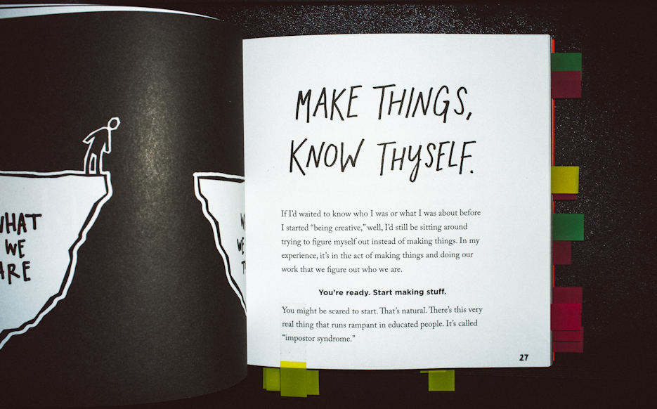 Steal Like An Artist by Austin Kleon. Creativity Book Review & Giveaway. Product & Book Photography by professional Indian lifestyle photographer Naina Redhu of Naina.co