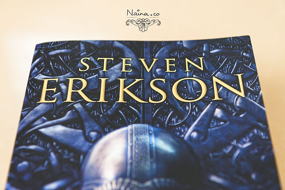 Steven Erikson, Forge of Darkness, The Kharkanas Trilogy. Book review excerpt. Bantam Press. Photography by photographer Naina Redhu of Naina.co