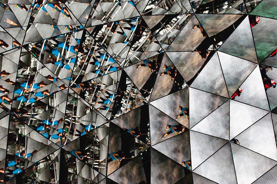 Swarovski Museum : Wattens, Austria in Europe by travel photographer Naina Redhu