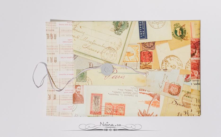 Felt & Wire, Mohawk Connects, Alyson Kuhn, Handmade envelope, Stationery, photographed by Lifestyle photographer, blogger Naina Redhu of Naina.co
