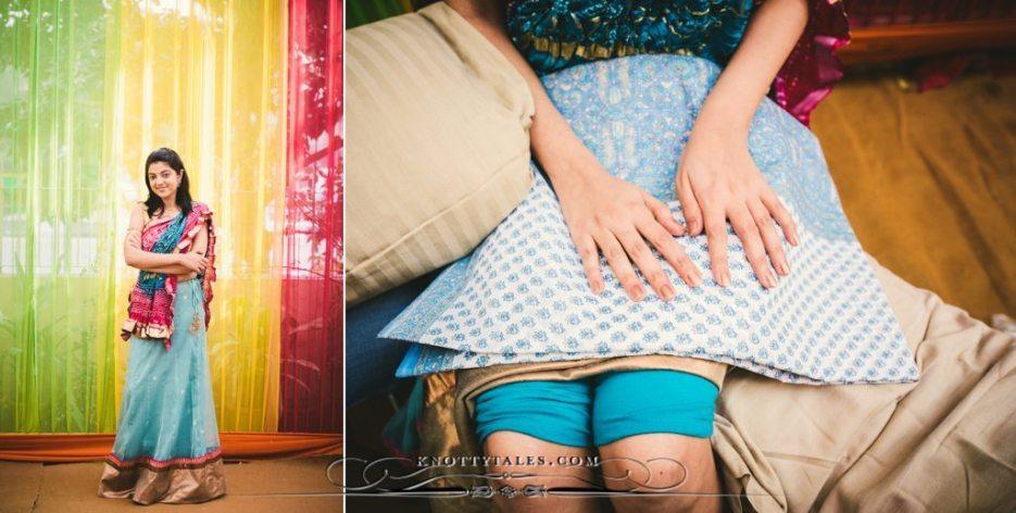 Meera Weds Praval Knottytales Wedding Photography Naina.co Photographer Mehendi Ceremony Bride