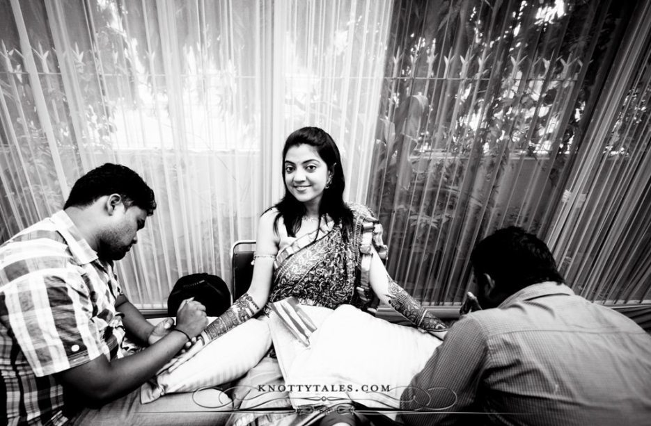 Meera Weds Praval Knottytales Wedding Photography Naina.co Photographer Mehendi Ceremony Bride