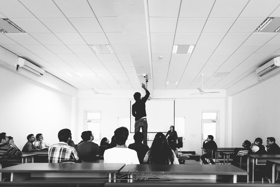 Shiv Nadar University Shefaly Yogendra Ethical Reasoning Class Photographer Naina.co Documentary