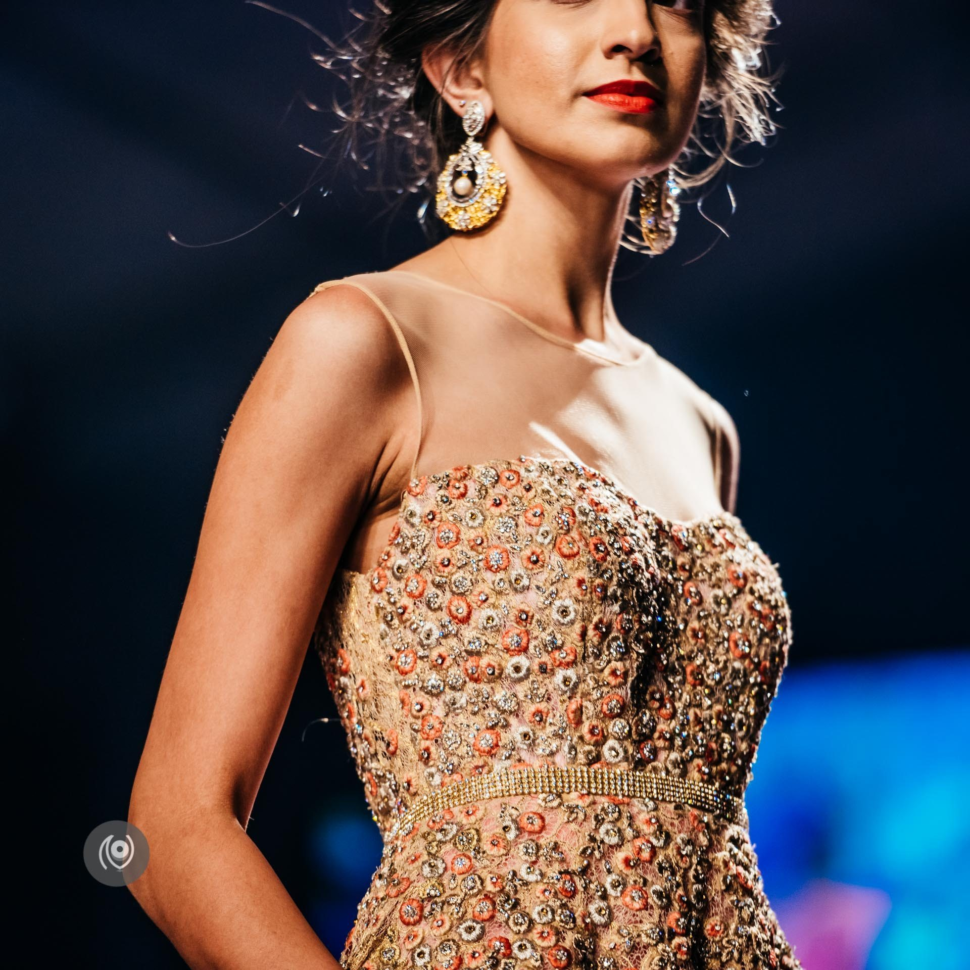 #SwarovskiCrystals Jyotsna Tiwari, BMW India Bridal Fashion Week, #BMWIBFW, Naina.co Luxury & Lifestyle, Photographer Storyteller, Blogger #SwarovskiCouture