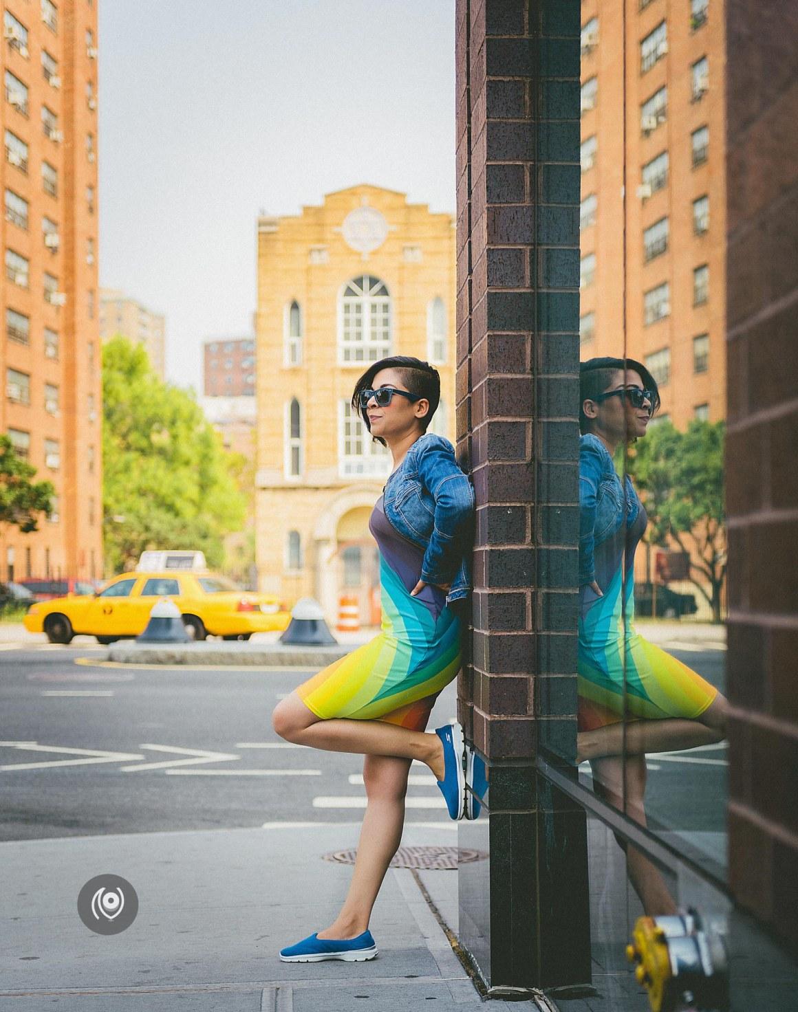 Rainbow Summer #CoverUp 50 #EyesForNewYork #REDHUxNYC #REDHUxAIRBNB Naina.co Luxury & Lifestyle, Photographer Storyteller, Blogger