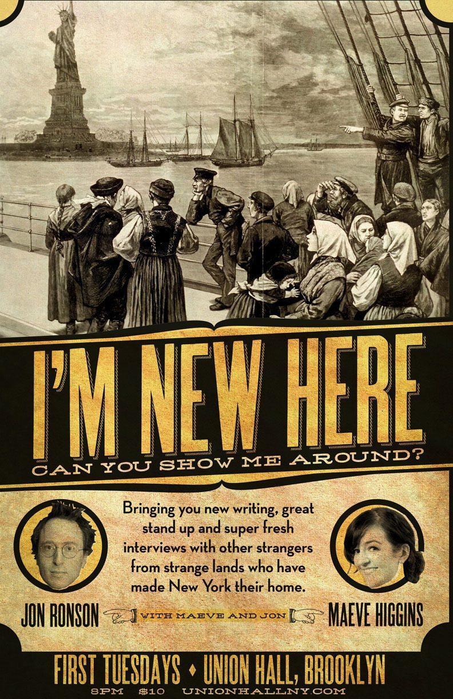 I'm New Here, Can You Show Me Around? Jon Ronson & Maeve Higgins, Union Hall, Brooklyn, #EyesForNewYork #REDHUxNYC Naina.co Luxury & Lifestyle, Photographer Storyteller, Blogger