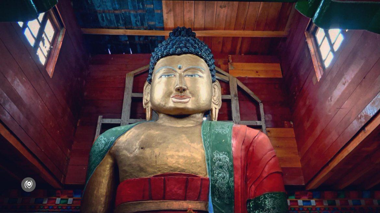 Buddha Statue, Dorjeeling Village, Silver, Menchukha, Menchukha Valley, Menchuka, Mechuka, Arunachal Pradesh, Assam, Flight, Travel Photographer, Travel Blogger, Luxury Photographer, Luxury Blogger, EyesForDestinations, EyesForArunachal, #EyesForDestinations, #EyesForArunachal