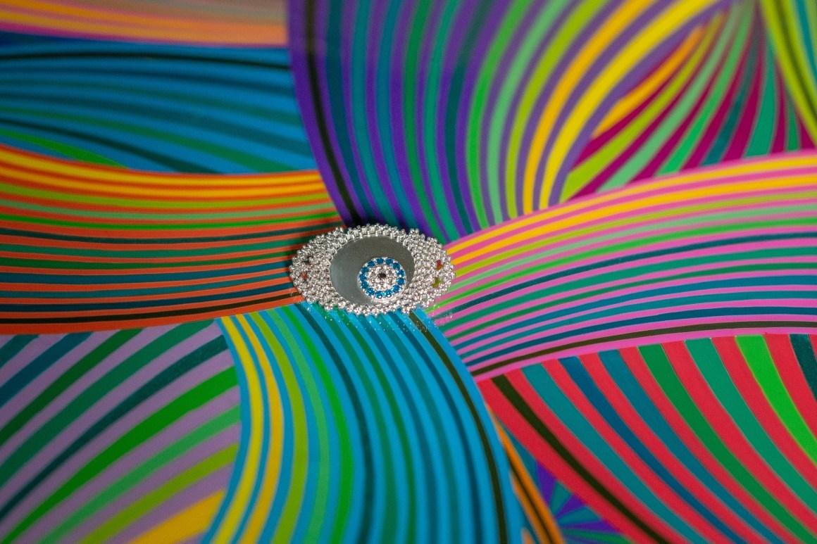 naina.co, naina redhu, priyanka thakur, my nirwaana, nirwaana, mynirwaana, evil eye, talisman, jewellery collection, silver, cubic zirconia, metal brooch, silver brooch, eye brooch, eye-shaped brooch, brooch jewellery, jewellery brooch, madeinindia, makeinindia