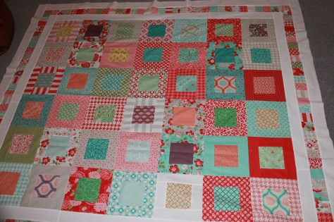 Finished patchwork