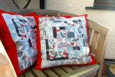 Bark and Branch Cushions