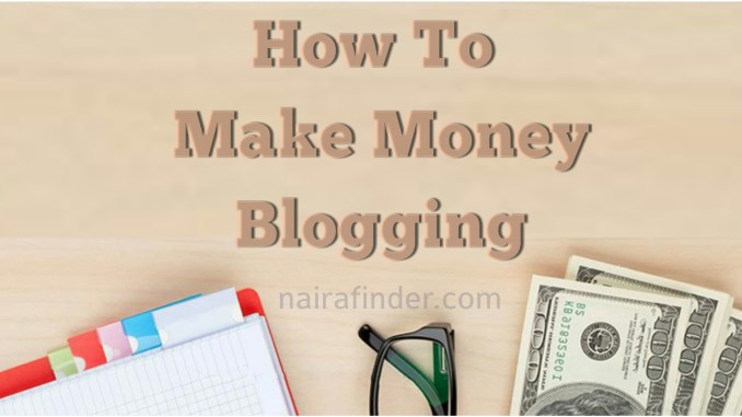 Making money blogging is not as difficult as many think; these days there are numerous options to monetize your blog. In this article, we'll show you how to make money blogging by showing you different ways to monetize your blog because a blog that is not monetized cannot make money. Maybe you started blogging or considering to start because you heard people make fron it or you're just on here for research purposes. Whatever the case maybe, we're here to show you how to make money blogging or how bloggers make their money. Create A Blog Now! If you don't have a blog yet, and you wish to create one, click here to see steps to follow. It's important you know that making money blogging is not a get rich scheme; it requires a lot of work and time, but if you do it right, you could make enough money to help yourself, family and more. How much can I make blogging? A lot of people keep asking this question. The truth is that there's is no fixed amount you can make with a blog. The amount blogger earn on daily basis ranges from 0 to millions of dollars depending on the traffic that comes to your blog, quality of content on your site and monetization strategies. There are rich bloggers and there are poor bloggers. Your efforts will determine how much you will make. Top blogger in Nigeria, Linda Ikeji, makes over $5,000 (USD) per day which is approximately 1.7million when converted into Nigerian Naira (NGN), while some other bloggers make as loe as $0.00 per day. Why Do People Blog? There are two main reasons people blog; 1. Hubby, and 2. Business. Regardless of which group you're, making money with a blog is possible. But to make huge money through your blog, then you need to take your blog as business. How to make money blogging To make money with your blog entails monetizing your blog. Below are different ways to monetize a blog; 1. Monetize with ad networks such as AdSense, Infolinks, Chitika, Media.net etc 2. Sell direct or private ad space 3. Add Affiliate links in your content 4. Sell Digital products 5. Use it as a Content marketing tool for your business 6. Sell memberships 7. Use it to build your Credibility 8. Sell off your blog Above is just the list, keep reading to see how it works. 1. Monetize with ad networks This can be done through signing up with ad networks. It is one of the most common ways to make money with your blog. There are two main types of ads offered by different ad networks; i) CPC/PPC Ads: Cost Per Click (also called Pay Per Click) ads. These usually come in form of banners that you place in your blog, and you make money each time your blog users taps/clicks on the ads. ii) CPM Ads: This is Cost Per 1,000 Impressions. Unlike CPC, this type of ad does not require your blog users to click before you earn. It pays a fixed amount of money depending on the number of people that visited your blog and see the ad. The most popular ad network for setting up these types of monetization is 'Google AdSense'. With ad networks, you don't need to be in direct contact with advertisers. All you need is to sign up with Google AdSense, place Google ad code on your blog, and Google will start displaying the most relevant ads on your blog. There are other ad networks, such as Infolinks, Chitika, Media.net that are very similar to Google AdSense which you can consider Google AdSense doesn't work well for you. 2. Sell Direct or Private Ads Another way to monetize a blog is through selling of direct ads space on your blog. So, instead of advertising through ad networks, like; Google AdSense, Infolinks, Media.net etc, you can sell ad space directly to advertisers. However, this type of monetization work well when you have a lot of traffic on your blog. Advertisers will be contacting you for you to place their ads on your blog. Also, you reach out to advertisers yourself, and tell them about the available ads space on your blog. The major difference from using ad networks is that you can set your own advert rates. You can as well sell adverts space in form of banners, buttons, sponsored posts or links. Another way to earn through this means is to accept sponsored posts from advertisers by writing about the advertise's product or service. Reward Tips: The method in which you make money with direct ads can vary depending on what you want. For example, you may charge a one-time fee for a link within a post or fix monthly charge if you're hosting banner ads. 3. Include Affiliate Links in Your Content Affiliate advertising another incredible way for monetizing a blog. Below is how it works: If 'James' has an item he wants to sell, and he agrees to give Jenny a commission if the item is sold through her or if a buyer bought the item through Jenny. James, then gives Janny a unique link (affiliate link) to track when an item will be purchased. That way, James would know when a purchase is made through the link he gave to Janny. To make sales, Janny can place the affiliate link on her blog, for her blog users to buy James' product, so that she would get commission for every sale made through her link. So, that is how affiliate marketing works. You must not create private partnerships with advertisers before you can make money from this. There are many affiliate networks like Amazon, Jumia, Konga etc you can work with. All you need is to sign up with any affiliate network, find product to sell, get your affiliate link, and place the link on your blog. Tip: You can create a banner and add the link to the picture, so that it will appear like banner ads. If your blog user clicks on the banner(affiliate link), it redirects the person to the site where to buy the product, and you'll earn if the person buys the product you've recommended. 4. Sell Digital Products Another great way to make money blogging is by the selling of digital products on your blog. If you don't want to advertise other people's products, then you can consider selling of your own products. Digital products to sell can be things like; eBooks, app, images, online courses, musics, videos plugins, or themes. Tip: Don't just jump into selling of digital products, you need to listen to your blog readers and find out what they really want before you begin to sell digital items to them, so that they will find your products relevant and useful. 5. Use it as a Content Marketing Tool for Your Business There are so many people that use their blog as a marketing tool to sell physical products and make money. So, instead of thinking about making direct money with your blog, you can rather use it as a powerful marketing tool to drive visitors to their business website. The potential outcomes of this is endless when it comes to developing a business blog. You could sell hand-made items such as, books, clothes, phones, and so on. If you've a business, you can start a blog to convert your blog readers into customers. For example, if you have a website where you sell clothes. You can start a fashion blog to redirect visitors to your website where you sell clothes. 6. Sell Memberships Selling memberships is another way to make money with your blog. For example, if you have a blog on career, you can charge $5 - $15 per months for users to gain access to job section of the blog. Membership subscription means that anybody who want to participate in a particular section or forum on your blog ought to subscribe before he/she can gain access. For instance if 500 persons pay $10 per month to gain access to a particular section on your blog; 500×$10=$5,000. That means, you'll be generating $5,000 per month. That's awesome, isn't it? A business blog can sell their forum memberships where people can get help for their business. Tip: Contents of your pro membership ought to be more valuable than what your visitors can find for free else somewhere. Ensure you have something that worth the price. 7. Use it to Build Your Credibility This isn't a direct way to make money blogging, however, blogging to build your credibility can eventually lead to money making opportunities. Lets take for example; if you have a finance blog, and many people are following your blog. And your blog becomes the 'talk of town'; you the owner of the blog will be a very popular figure in the finance industry. Once, you rise to that level, people will start contacting you to co-author a book on savings money, or you can charge reasonable amount of money to speak at conferences or to run training relating to finance. Just as previously said, it is not a direct way to make money with a blog, but it will certainly work if you know what you're doing. It has worked for many popular bloggers, therefore it's going to work for you. 8. Sell off your blog Wow! This is another interesting way to make money blogging, but this would warrant selling off your blog to an interested buyer. If you've built a blog that generates decent daily traffic, you could sell it off to start a new blog. You can check your blog worth at www.siteworth.com. The richest blogger in Nigeria, Linda Ikeji, her blog at www.lindaikejisblog.com worth up to $60million (USD). This means, Linda Ikeji wouldn't sell her blog below that amount if she decides to sell it today. Final Thoughts The most important thing to bear in mind is that making money blogging cannot be possible if you create a blog, fold your hand while you look at it. NO! it doesn't work that way! Making money blogging requires a lot of serious works and time, and you must be ready for it. The reason most bliggers have not seen a dime after several months or years of blogging is because after creating a blog they put very little efforts towards building their blog. I would like you to read these little bits of counsel below: 1. Make Quality Content Let the truth be said, you won't make money blogging if people don't read your content. Users experience matters a lot because, your readers are actually the ones to make money for you. Always, create quality content for them to read; whether they are clicking your ads or buying your products. The longer you hold them on your blog the more chances you have to make money. 2. Try not to spend all your time on your blog Spending time building your blog is important but it doesn't mean you should exclusively spend time on your blog. To build a successful blog, you need to also spend time to build relationships with your readers, sponsors, affiliate partners and other bloggers who will push traffic to your blog. Make sure you put some of your time in building social media followers, forums, groups or whatever works for you in build these relationships. 3. Try not to be afraid to experiment Be informed that not every tips to make money blogging is going to work for you. However, try not to be reluctant to change you techniques to see what works best for you and your blog users. Making money blogging requires a great deal of perseverance and hard work, it will certainly pay off over the long haul if you are just a beginner. Do not use all the methods of making money discussed above at once. Find out the one that suit you. After some time, you will definitely realize what works and doesn't work for you. If you have any question, do not hesitate to let us know by using the comment section below. Also, do not forget to support us by sharing this post on social media