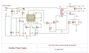 Design And Build Of A Pure Sine Wave Inverter  Science