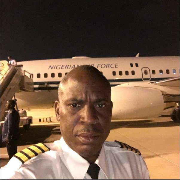 Nigerian Presidential Plane