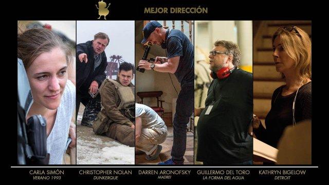 Blogos de oro 2018 - Dirección
