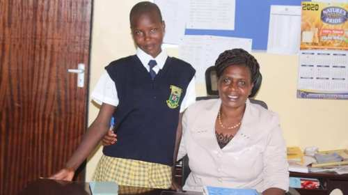 PRINCIPAL OFFERS FOUR YEAR SPONSORSHIP TO BRIGHT, NEEDY PUPIL. 1