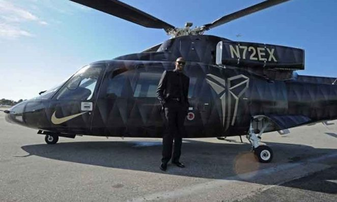 '500feet in 15sec' How Kobe Bryant's helicopter dropped.