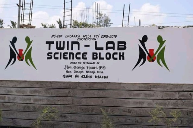 MP BUILDS A NEW TWIN LABORATORY AT PETER KIBUKOSYA SECONDARY SCHOOL 1