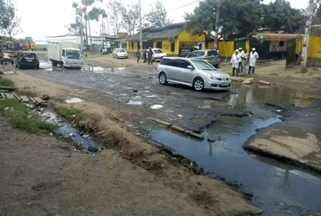 SOCIAL MEDIA BURSTS INTO ECSTATIC APPLAUSE AS MP PROMISES TO EFFACE  POTHOLES FROM CHARINA 1