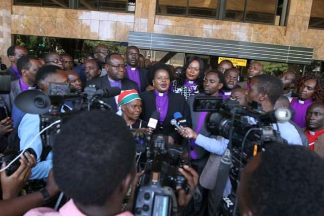 BISHOP MARGARET WANJIRU AND CHURCH LEADERS UNVEILS CHURCH BBI RECOMMENDATIONS. 8
