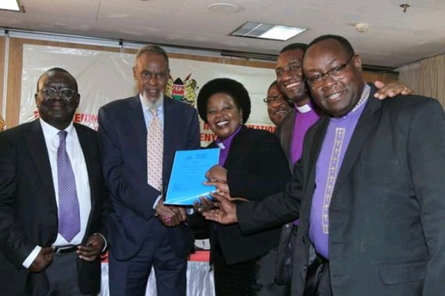 BISHOP MARGARET WANJIRU AND CHURCH LEADERS UNVEILS CHURCH BBI RECOMMENDATIONS. 3