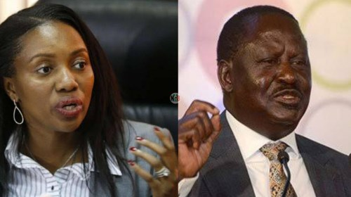 Susan Kihika Reacts After ODM Leader Raila Odinga's Remarks